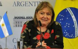 "Argentina's Foreign Ministry said that the government respects ""the institutional process that is unfolding"" and is confident in the strength of Brazilian democracy"