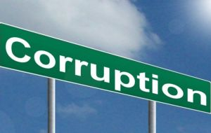 "Corruption is defined by IMF as ""an abuse of public office for private gain"", but also includes tax evasion and arbitrary tax exemptions"