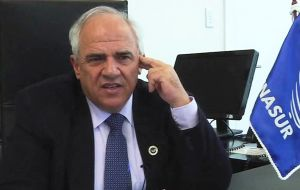 Minister Serra criticized the head of Unasur, Ernesto Samper, who has questioned the validity of Rousseff's suspension.