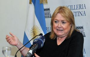 Inaccurate statements from Susan Malcorra in relation to a technical report from a UN committee on Argentina's continental shelf makes the process more difficult.