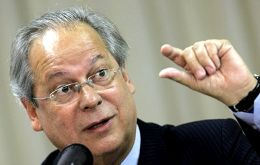 Dirceu was former President Lula da Silva's chief of staff from 2003 to 2005 before being forced to step down over a congressional vote-buying scheme.