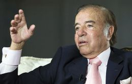 Menem said he believes his son was killed by the Lebanon-based group Hezbollah, which prosecutors also suspect was behind two 1990s bombings in Buenos Aires.