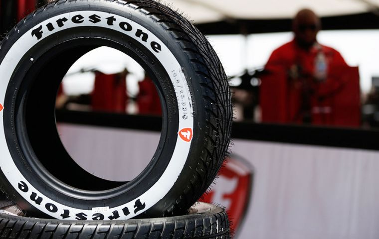 Bridgestone says the sale will have no financial impact because it already has written off its investments in the crisis-wracked country.