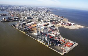 Montevideo is Uruguay's main terminal and a hub for transshipment of South Atlantic and land locked Paraguayan cargoes.