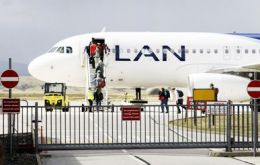 PN reports that action is being taken following LAN passengers recently attempting to take non permitted items on to a flight out of the Falklands.