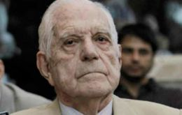 Bignone, 88, the highest ranking figure on trial, was sentenced to 20 years in jail. Fourteen of the remaining 16 defendants got eight to 25 years behind bars.
