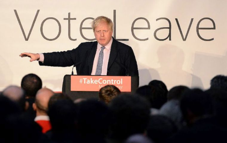 """The system has spun out of control,"" Brexit campaigner Boris Johnson, the former London mayor said in a statement."