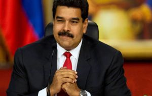 President Maduro's administration blames the power shortage on a drought caused by the El Niño weather phenomenon
