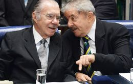"In the leaked tape Sarney recalls: ""he (Lula)  told me that his only regret is having elected Dilma. The only mistake he made – and the worst of all""."