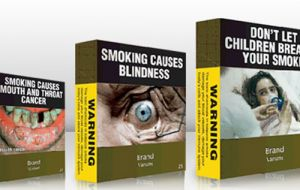 Plain packaging is recommended in WHO FCTC guidelines as part of a comprehensive approach to tobacco control