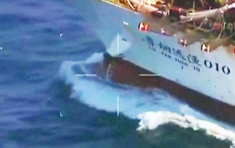 In mid-March the sinking of the Chinese vessel Lu Yan Yuan 010 when fishing in Argentina's EEZ triggered a surge in diplomatic discussions.