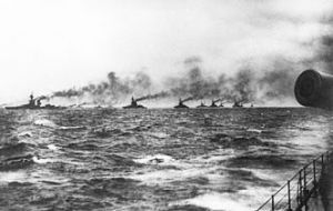 The battle was fought near the coast of Denmark on 31 May and 1 June 1916 and involved about 250 ships.