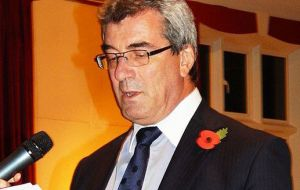 Current Chief Executive, Keith Padgett, was the first Chief Executive to be locally recruited when appointed in 2012, having lived in the Falklands since 2001.