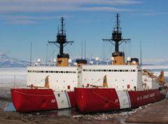 U.S. currently relies on two polar icebreakers, one heavy and one medium vessel. The heavy icebreaker, Polar Star, entered service in 1976