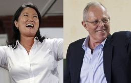 Keiko Fujimori has an insignificant lead (statistical tie) over her rival, Pedro Pablo Kuczynski, ahead of the Sunday run-off vote