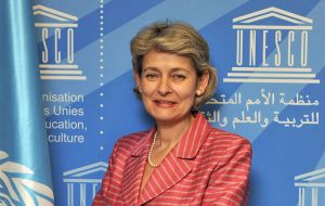US backing for Malcorra is understood in part to be a move to block the Bulgarian candidate, Irina Bokova, who is favoured by the Russians