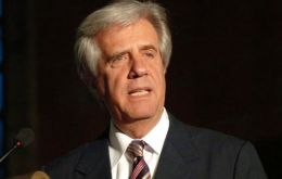 President Tabare Vazquez emphasized that Uruguay's position remains as expressed in the 'dialogue' statement shared with Argentina, Chile and Colombia.
