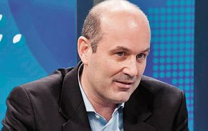 Argentine Central Bank head Federico Sturzenegger reported 4.9 million pesos in four accounts in the United States.