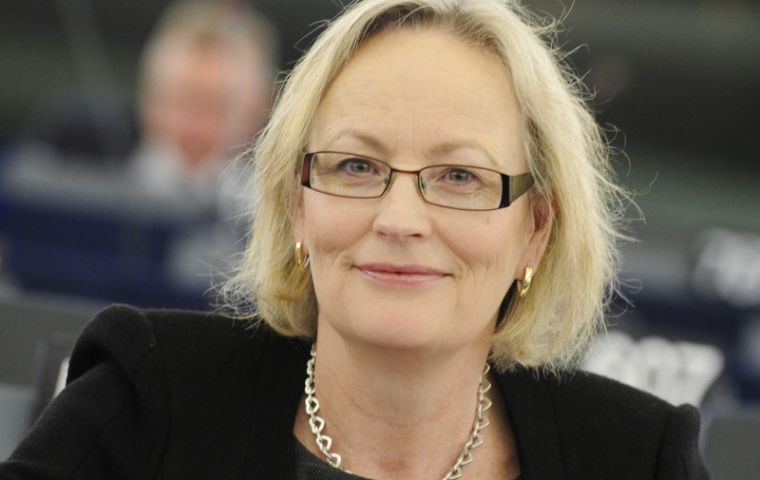 Julie Girling, MEP for the Southwest of England and Gibraltar, has said she sees no circumstances under which Gibraltar would accept joint sovereignty