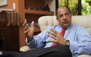 "Munoz also revealed that ""almost certainly"" the Costa Rican president Luis Guillermo Solis, will also be participating in the Alliance's summit"