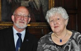 FIA Chairmen Alan Huckle and Councillor Jan Cheek MLA