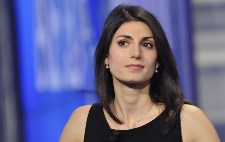 Raggi had campaigned on ending corruption in the Italian capital and reversing the trend of severely failing public services across Rome.
