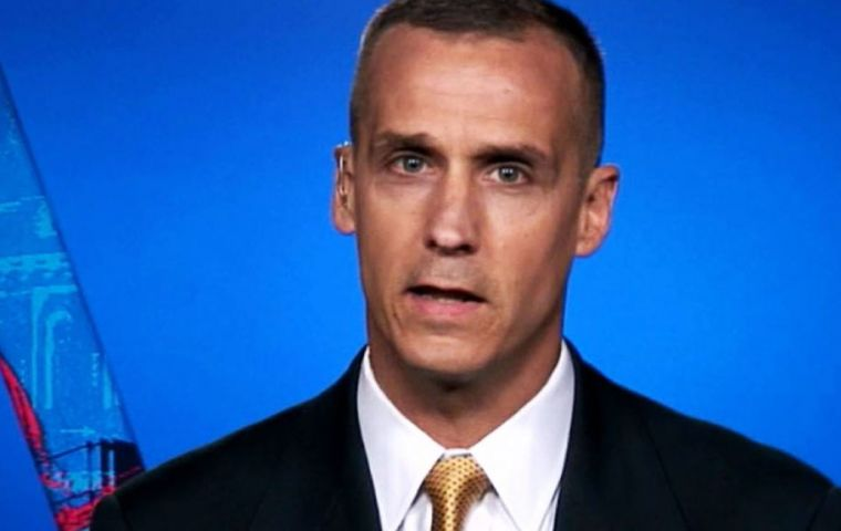 Lewandowski, as brash and unconventional as the candidate himself, had been by Trump's side since the beginning of his unlikely rise to presumptive GOP nominee