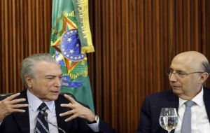 The agreement brokered by minister Meirelles was a compromise between the two-year grace period requested by states and the partial relief proposed by Brasilia