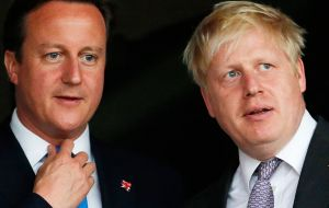 "Why risk holding a referendum, let alone advocate a ""Leave"" vote. The answer is a foolish miscalculation from Cameron and reckless ambition from Boris Johnson."