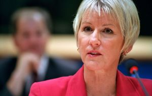 Sweden's foreign minister Margot Wallstrom said Brexit could trigger an avalanche of demands for special treatment or in/out referendums in other EU members
