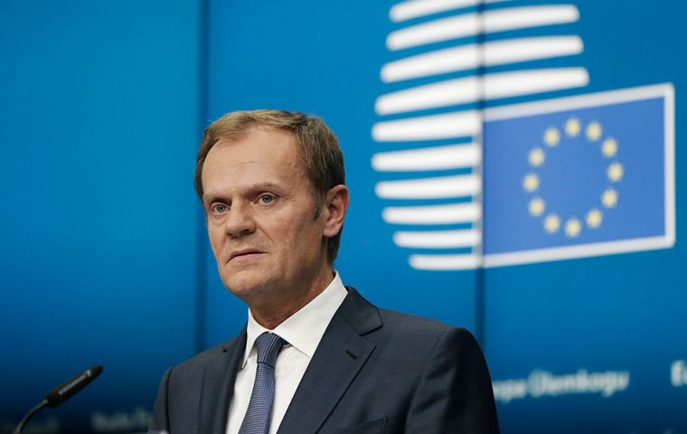 Brexit could become the beginning of the destruction of EU and Western political civilization in its entirety, said Donald Tusk, the president of the European Union