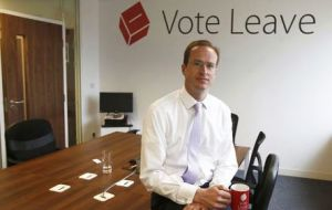 """The EU is costly, bureaucratic and blind to the impact it has had on people's wages and soaring energy bills,"" said Vote Leave chief executive Matthew Elliott"