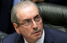 """I'm neither a hero nor a villain in the case"" against Rousseff, Eduardo Cunha told a press conference."