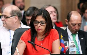 Venezuela called an extraordinary OAS session to update the body about dialogue between the government and opposition