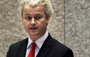 "Dutch anti-immigration politician, Geert Wilders, said the Netherlands now deserved a ""Nexit"" vote. EU politicians fear a domino effect"