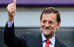 Rajoy's Popular Party won 137 of 350 parliamentary seats, up from 123 seats in the December elections. Socialists captured 85 seats, five fewer than in December.