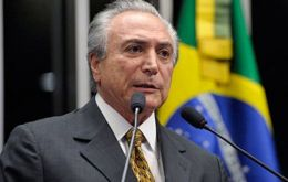 "Temer ""does not wish to participate in the solemnity of the event when Venezuela takes over the Mercosur presidency ""according to sources in Folha de Sao Paulo."