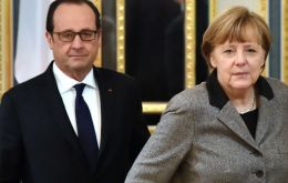"Merkel and Hollande will hold talks later in Berlin amid a flurry of diplomatic activity in the wake of so-called ""Brexit""."