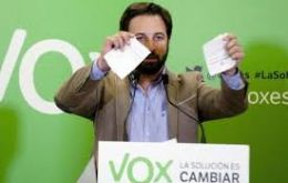 He was one of a group of Spanish members of the right-wing VOX party who entered as part of a campaign in the run-up to Sunday's general election in Spain.
