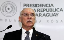 "Loizaga said Paraguay will not accept Venezuela's presidency since ""it's not a good message for Mercosur because we were not consulted, nor was Brazil""."