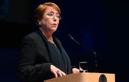 Michelle Bachelet urged the bloc to expand integration efforts to Mercosur, the other Latin American alliance, to obtain greater benefits.