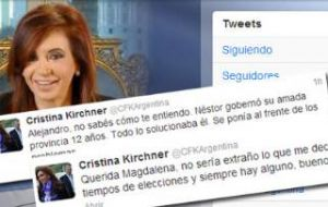 "Cristina Fernandez describes the search a political humiliation and tweeted: ""It has been a while, decades I would say, since we've seen such an abuse of power"""