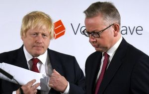 Johnson whose backing for the Leave cause was essential to its victory, saw his leadership bid crumble after Justice Secretary Michael Gove, announced his bid