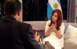 """The opposition must fulfill its role. I believe it is lacking ideas,"" she told news channel C5N in her first interview in months."