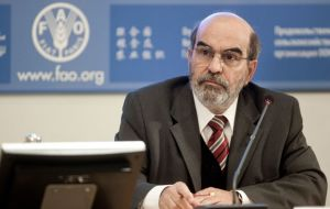 """Significant production growth is needed to meet the expanding demand for food, feed and raw products for industrial uses"", said FAO chief José Graziano da Silva"