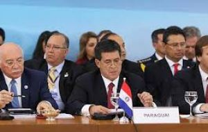 Paraguay objected that the Mercosur chair could not be handed to a country that lacks the needed internal peace and democratic guarantees