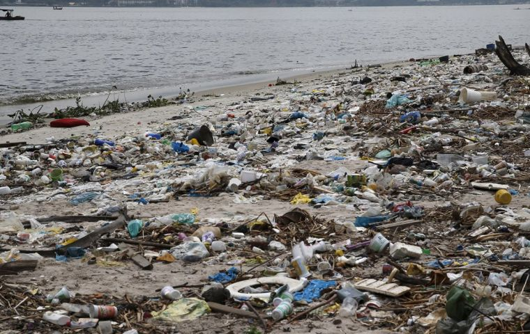 City officials blame illegal dumping for the contamination, but a significant portion of Rio's raw sewage goes untreated before it's dumped into the ocean.