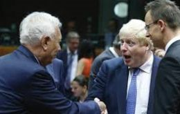 Boris Johnson told García-Margallo that Britain would not budge on Gibraltar's sovereignty for as long as the Gibraltarians wished to remain British.