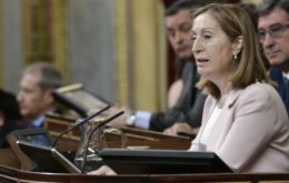 Ana Pastor was elected in the first post-election session of parliament, gaining 169 votes, ahead of Socialist lawmaker Patxi Lopez, who got 155 votes.