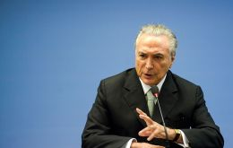 While Temer has expressed support to open up the country's aviation sector to further foreign investment, he does not support their full ownership.